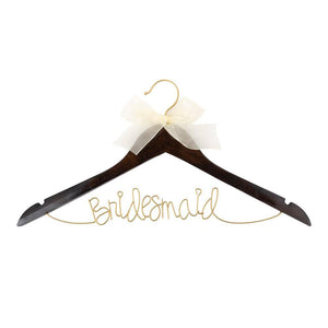 Bridesmaid coat hanger