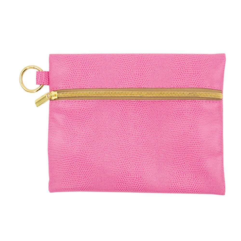Front view of Pink Lizard Kansas Pouch