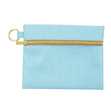 Front view of Turquoise Lizard Kansas Pouch
