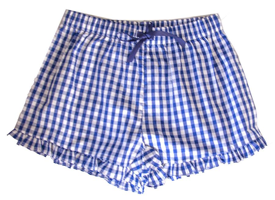 Gingham Lounge Shorts