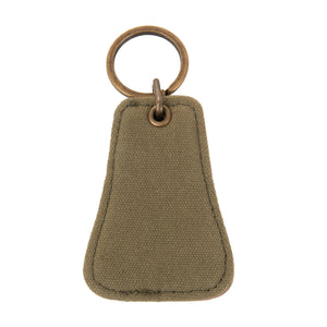 Front view of our Forest Canvas Bottle opener Keychain