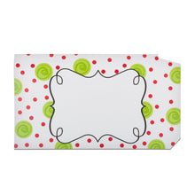 Front view of our Happy Dots Pattern Mailbox Cover