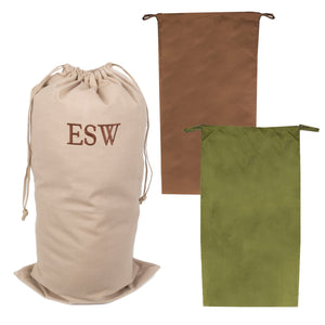 Mens Canvas Laundry Bags