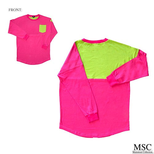 Go Whimsey Color Block Shirts