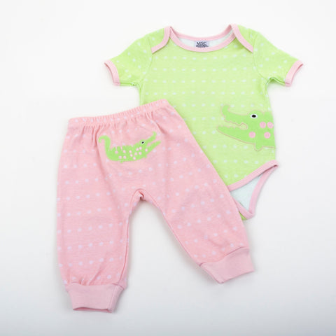 Lifestyle image of our Pastel Baby Pants
