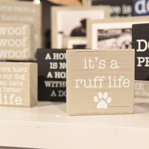 Lifestyle view of our Pet Blocks