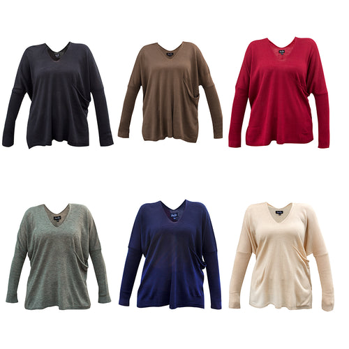 Pocket sweater colors