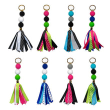 assortment of all ribbon keychains