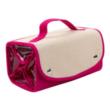 Canvas Roll Up Cosmetic/Accessory Organizer