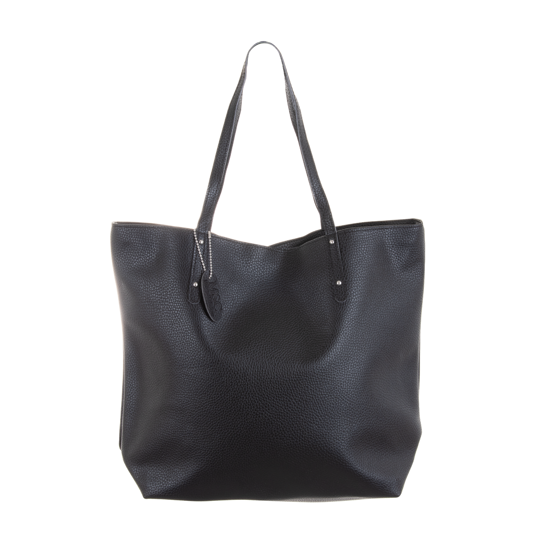 Black Spring Bucket Tote