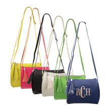 Monogrammed view of our Spring Chic Crossbody