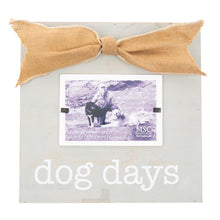 "Front view of our ""Dog Days"" Square Box Frame"