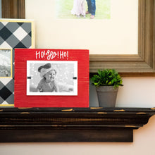Lifestyle view of our Ho Ho Ho Santa Frame