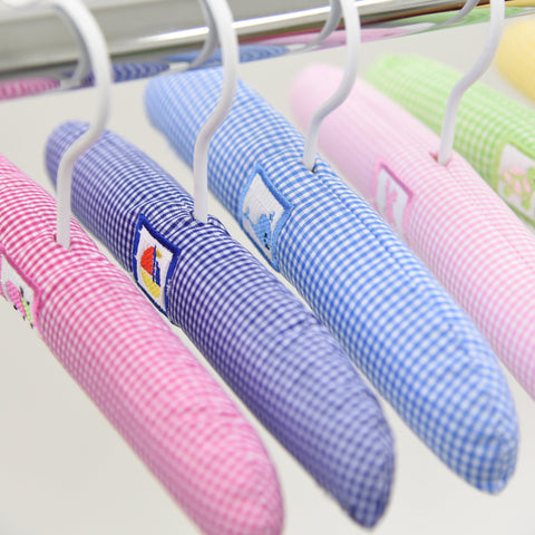 Lifestyle image of our Smocked Hangers