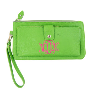 Vegan Leather Downtown Wallet with Wristlet