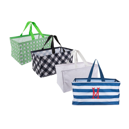Our Monogrammed Collapsible Totes