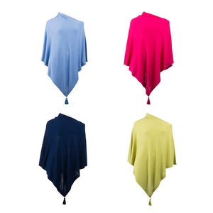 Collection of Spring Tassel Ponchos