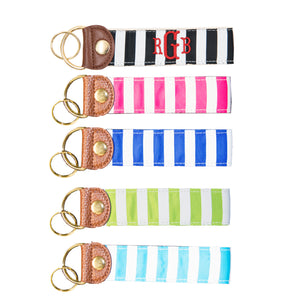 Our Stripe Snap Key Fobs