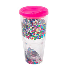 Confetti Tumbler with Lid