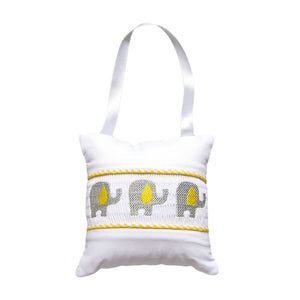 Baby Nursery Hanger Doorknob Smocked Music Pillows