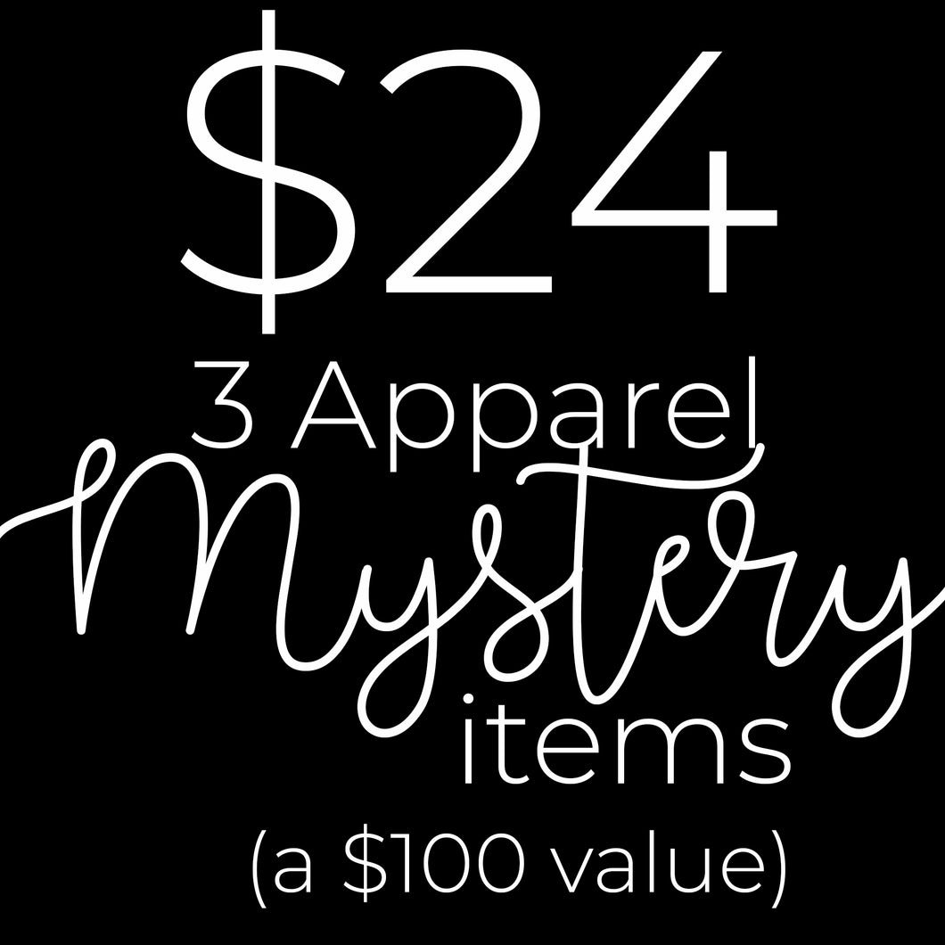 Apparel Mystery Bundle- a $100 value