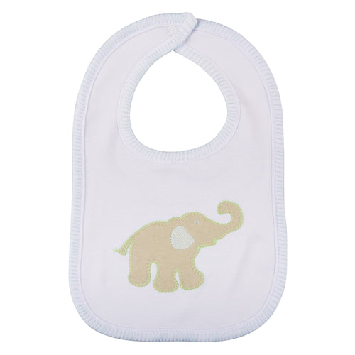Elephant Stitch Bib