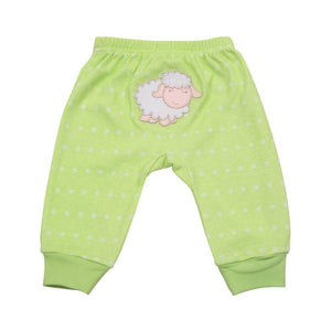Lamb Lime Dot Pants 0-6 Months