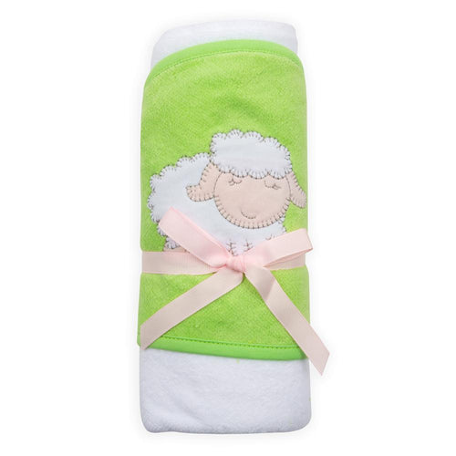 Lamb Lime Hooded Towel