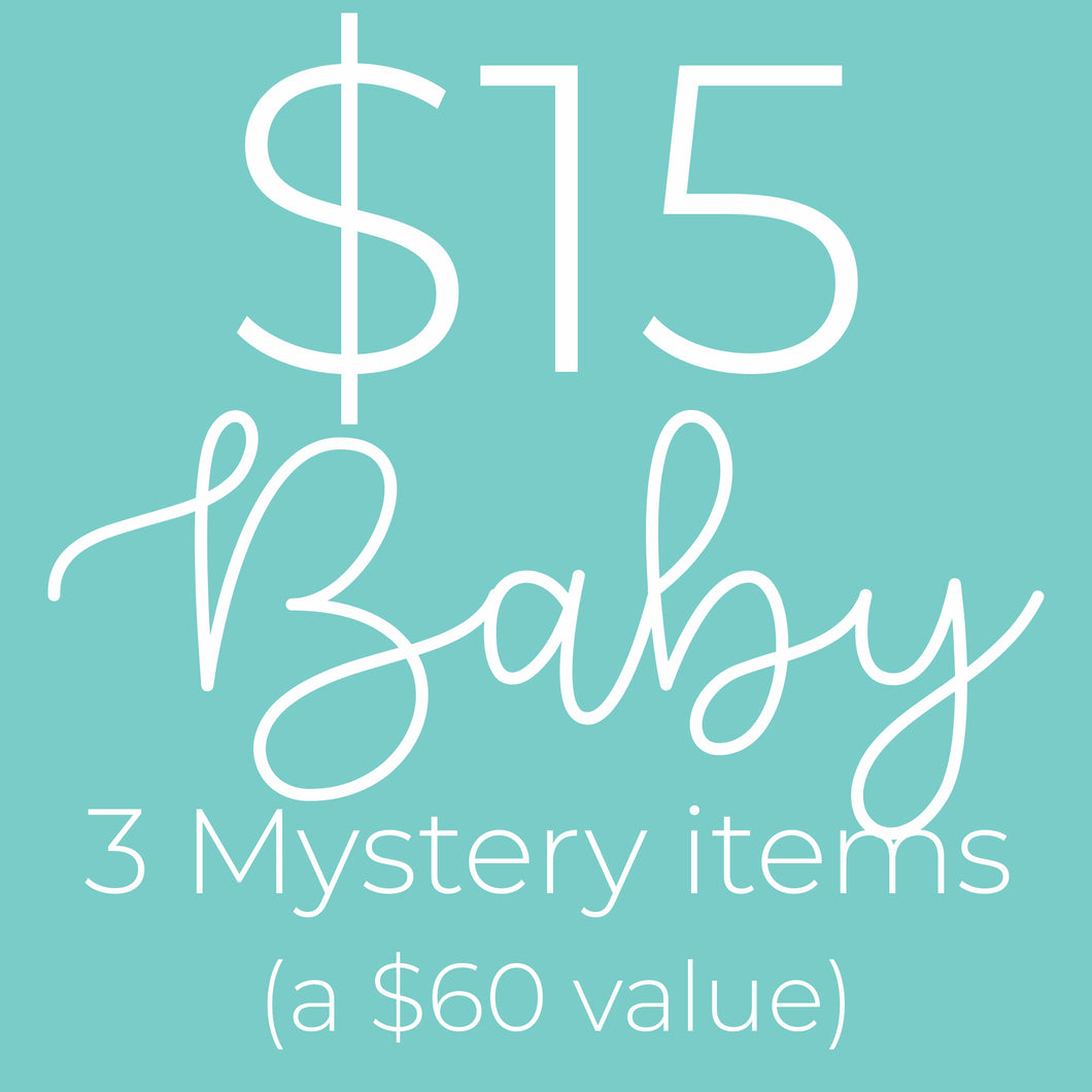 Baby Mystery Bundle- a $60 value