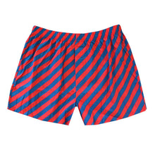 Load image into Gallery viewer, Red and navy stripe boxer