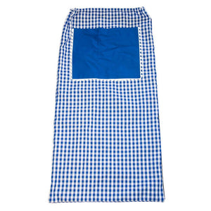 Blue Gingham Laundry Bag