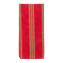 Holiday Vertical Stripe Dish Towel