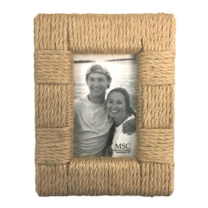 Rope portrait picture frame