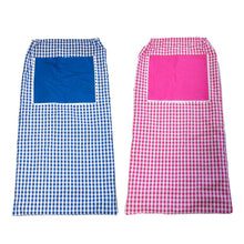 Pink and Blue Gingham Laundry Bag