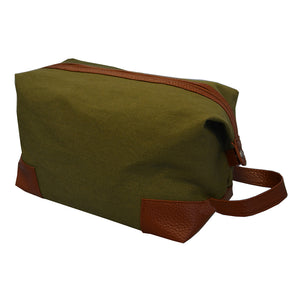 Forest canvas dopp kit