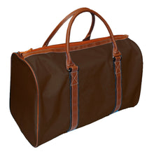 Mocha duffle bag
