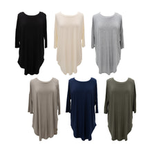 Front view of our Slouch Tunics