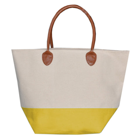 Yellow Daycation Tote