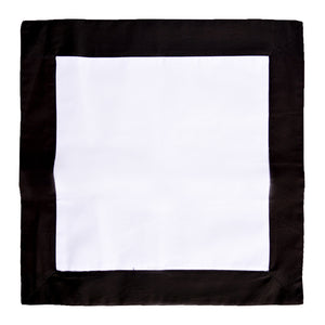 Black / White Throw Pillow