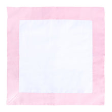 Light Pink / White Throw Pillow