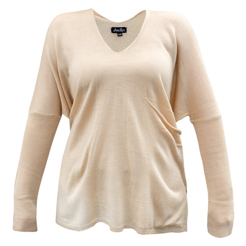 Taupe pocket sweater