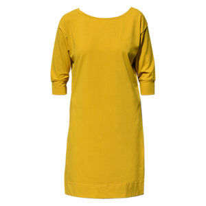 Mustard Sleeve Dress