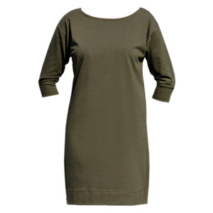 Olive Sleeve Dress