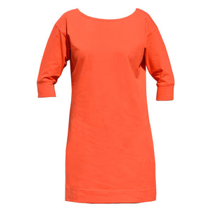 Orange Sleeve Dress