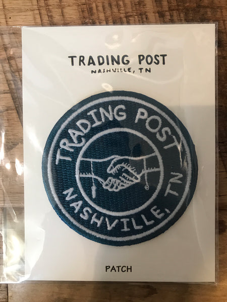 Trading Post Shaking Hands Patch