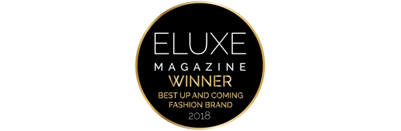 Eluxe Magazine Best Up and Coming Fashion Brand Award