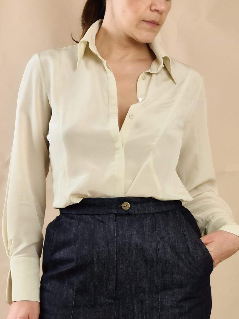 Bożena Jankowska Ltd Blouse The Classic Silk Blouse
