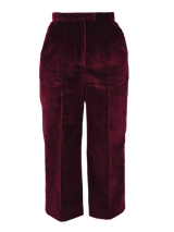 Bożena Jankowska Ltd Trousers High Waist Corduroy Trousers