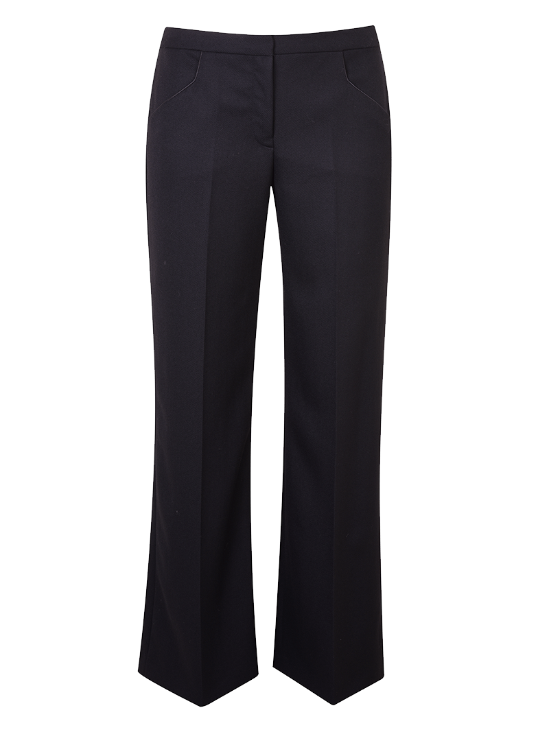 Bożena Jankowska Ltd Trousers Rhea Wide Leg Straight Trousers