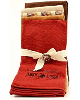 COWBOYS KITCHEN TEA TOWEL SET